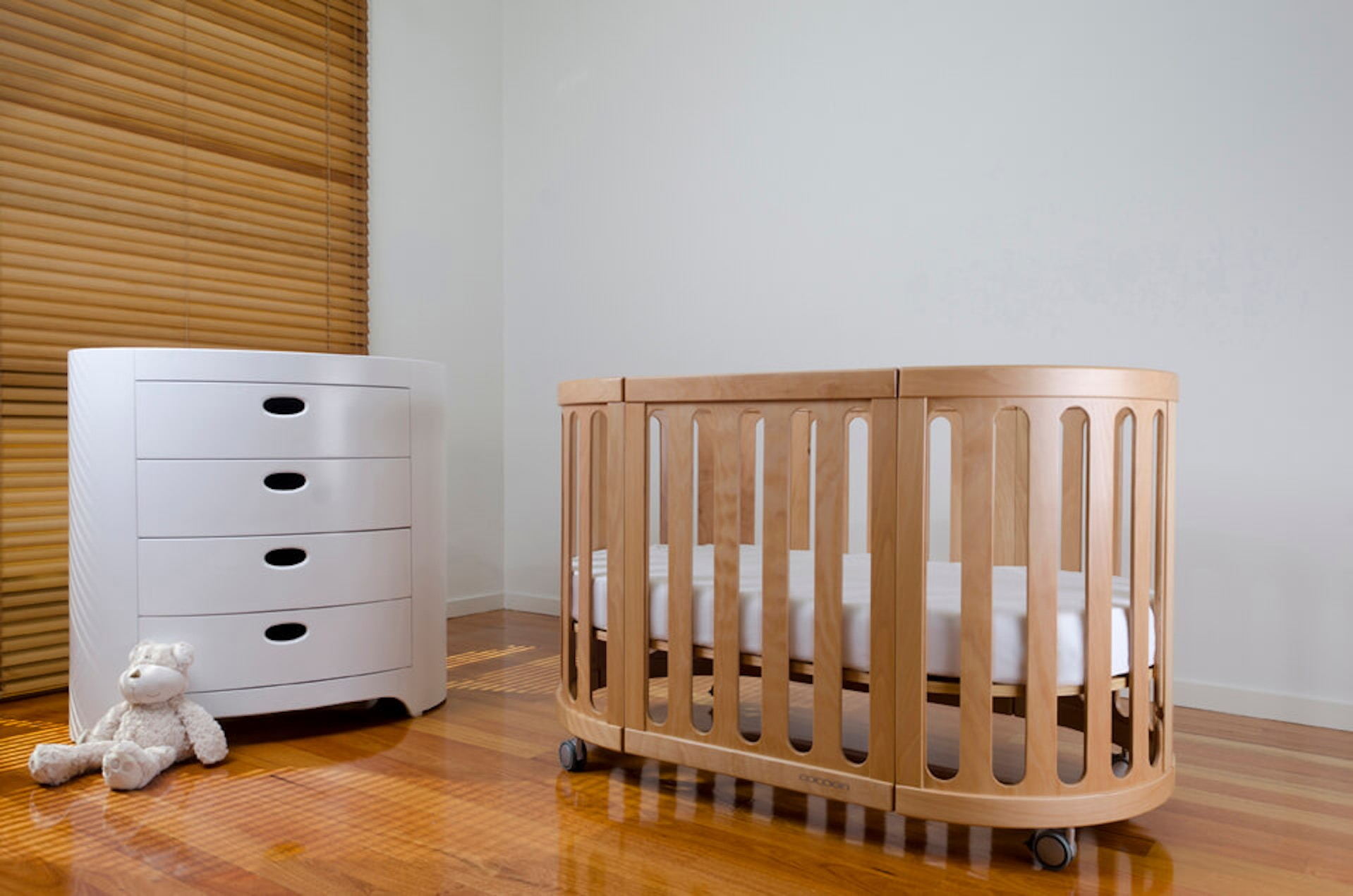 Cocoon Nest 4 In 1 Cot Baby Village